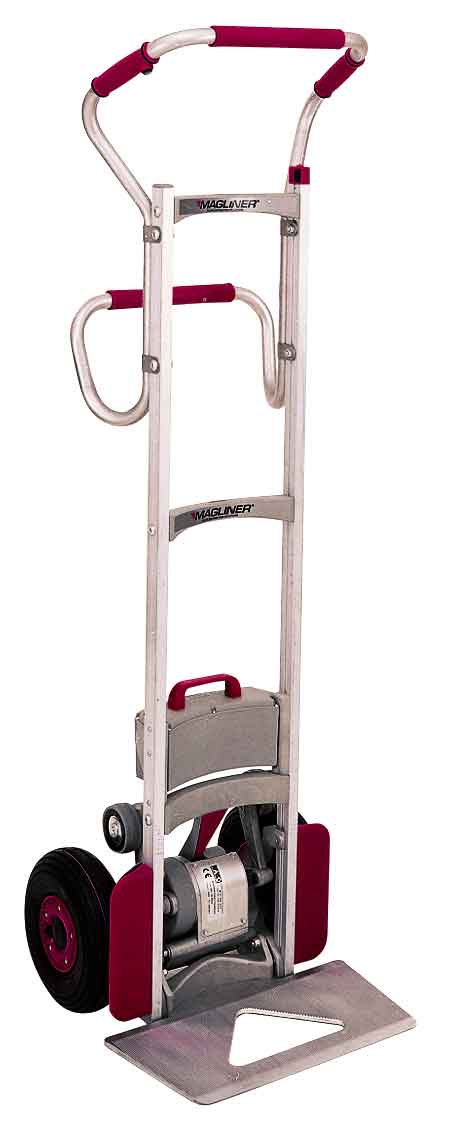 Stair climber electric battery motorized hand truck for Motorized hand truck dolly