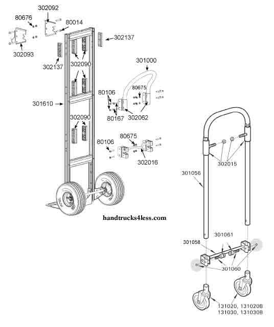 diagram parts of a truck